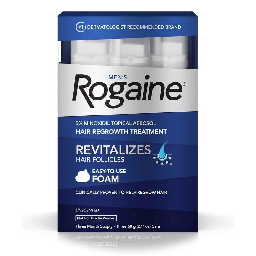 Best Hair Loss Treatment for Men - rogaine review