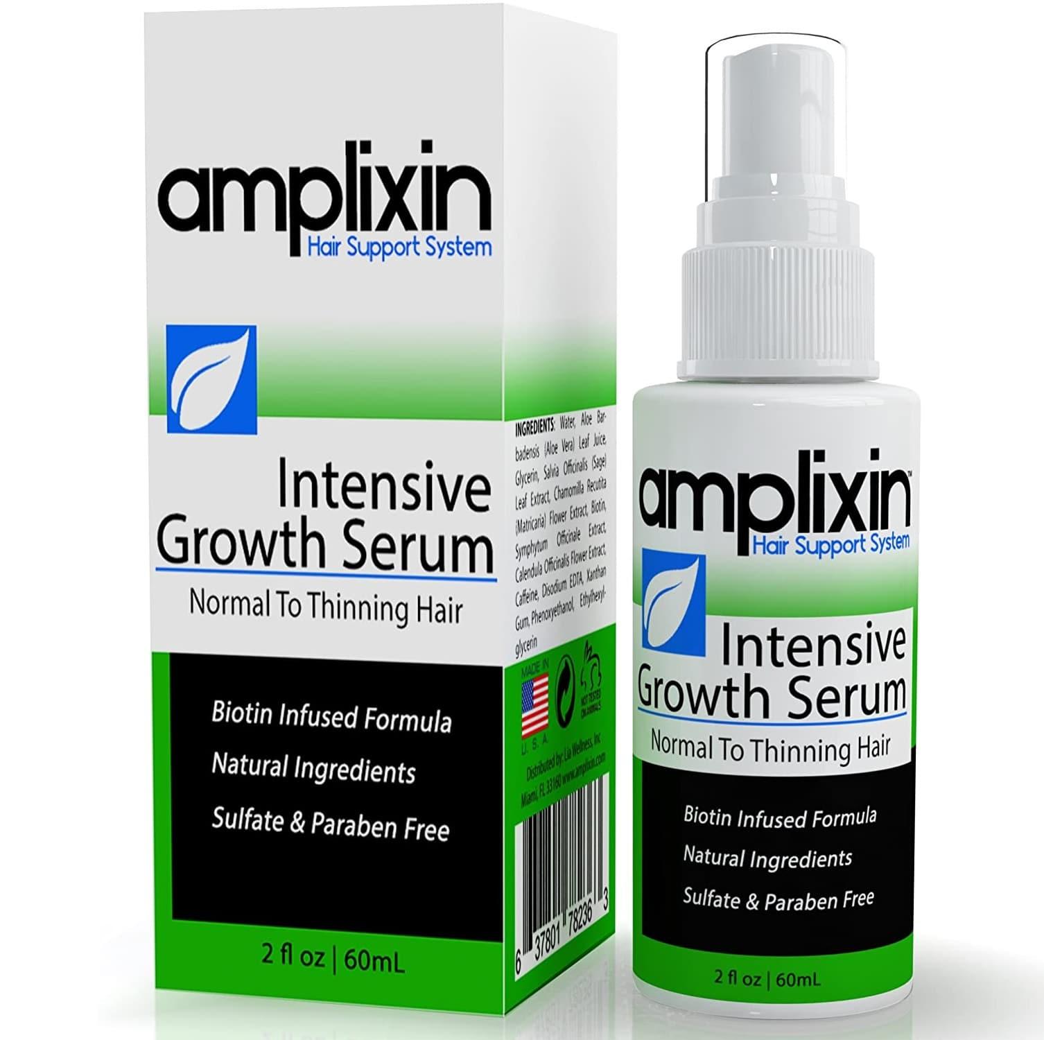 Best Hair Loss Treatment for Men - Amplixin review