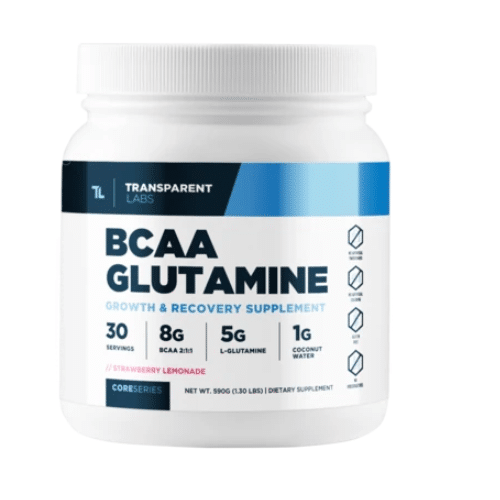 Best bcaa for men - transparent labs review