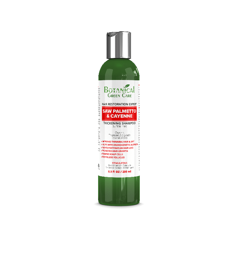 Best Hair Loss Treatment for Men - botanical green care review