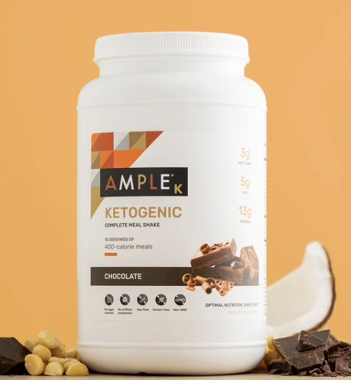 best keto shakes - ample review