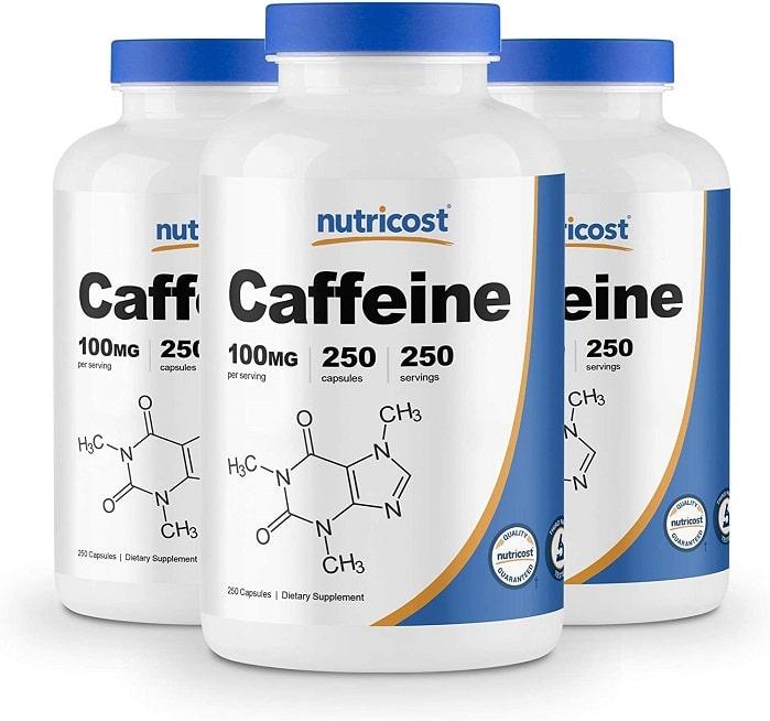 Best caffeine pills - Nutricost review