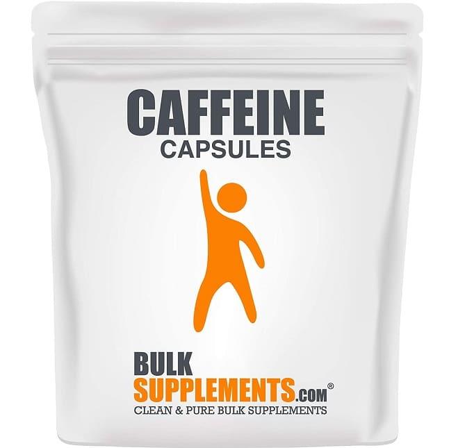 best Caffeine pills - BulkSupplements review