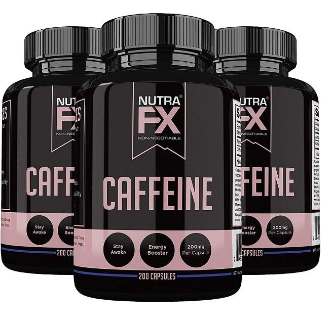 best caffeine pills - nutrafx review