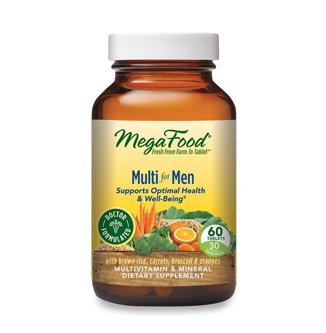 best multivitamin for men - Multi For Men from MegaFood review