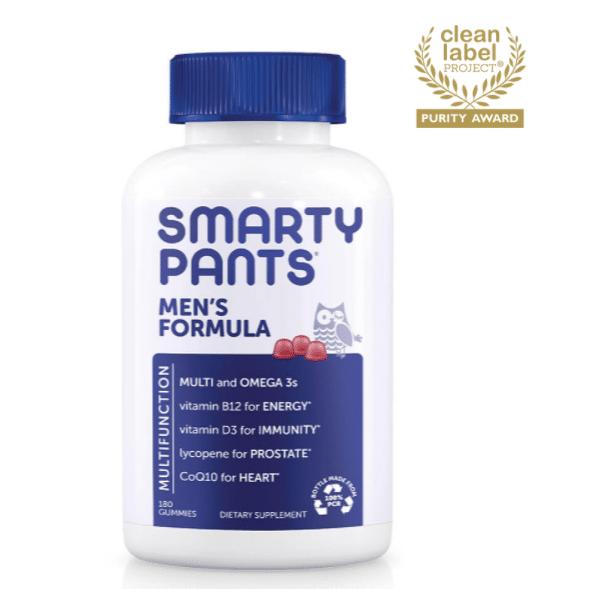 best multivitamin for men - Men's Formula Gummies SmartyPants Vitamins Review