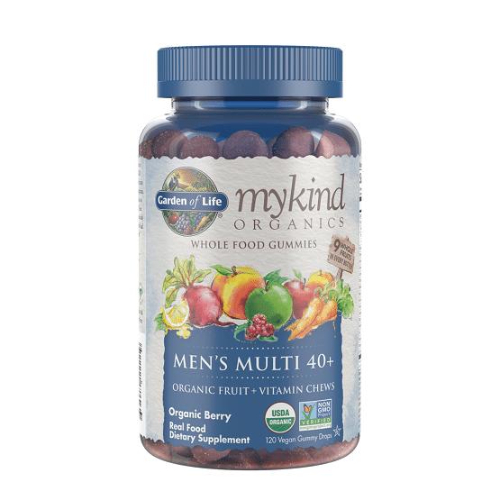 Best multivitamins for men - mykind Organics Men's 40+ Multi Berry review