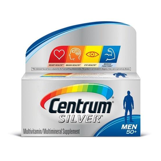 best multivitamin for men - Silver® Men's Multivitamin from Centrum Review