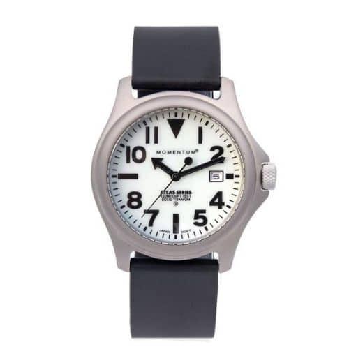 Best Watches For Men - Atlas [38mm] - White Full Lume Review
