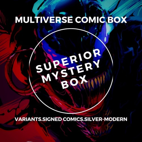 Best Subscription Boxes for Men - Multiverse Comic Box Superior Comic Book Mystery Box