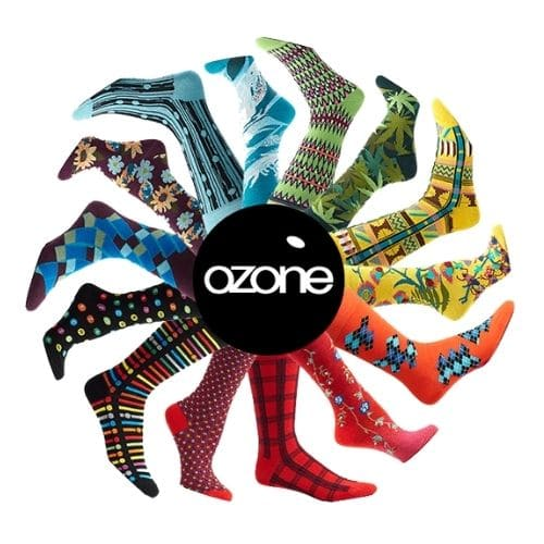 Best Subscription Boxes for Men - Ozone Socks Sock of the Month Club Review
